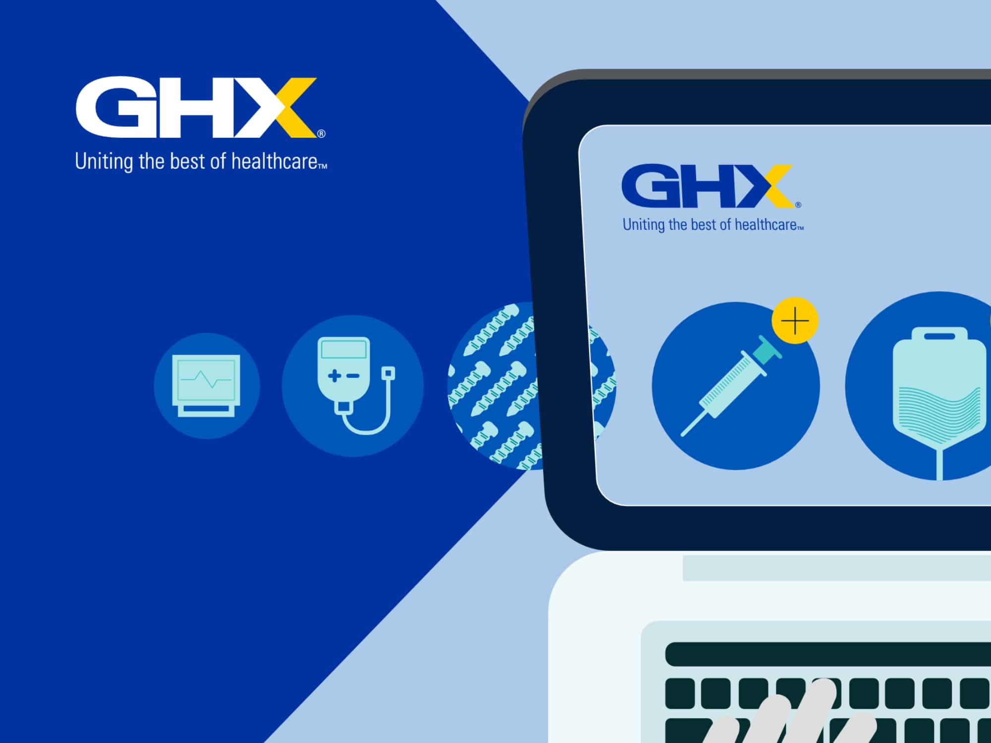 GHX - Healthcare Supply Chain Management design
