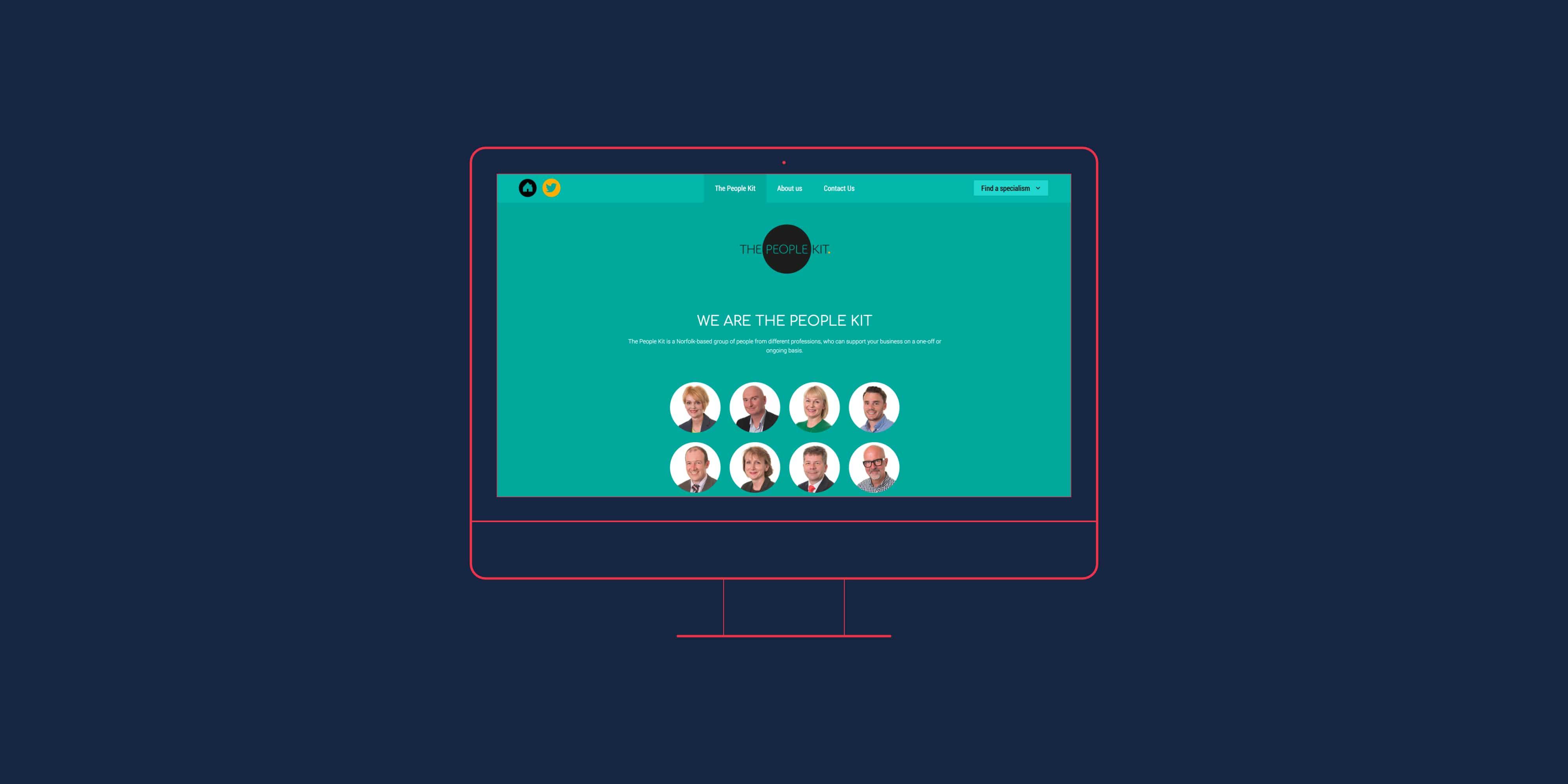 The People Kit website