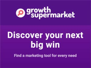 GrowthSupermarket website design