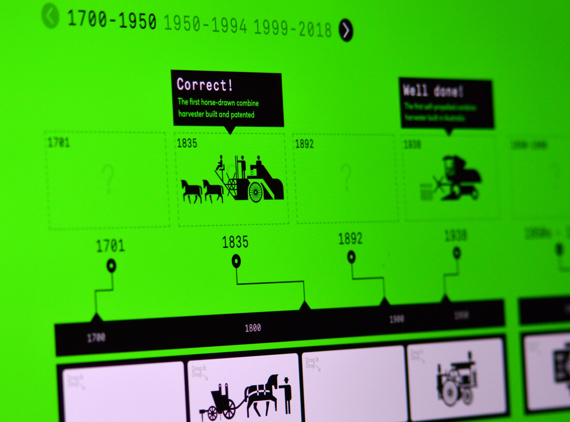 FutureFood - Image showing the online interactive game